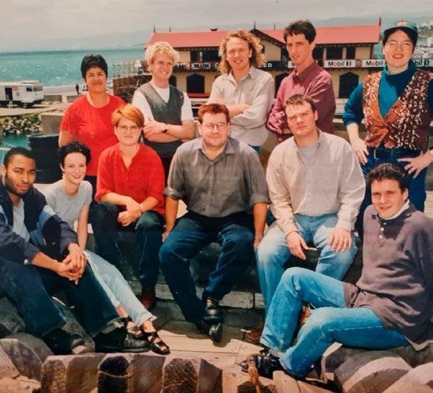 Grant and Paula Bennett 1996 NZUSA executive board
