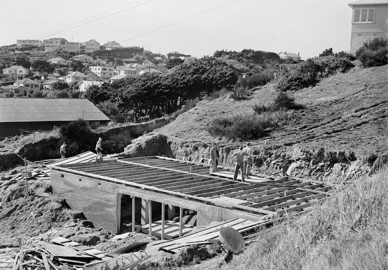 Titahi Bay State houses being built
