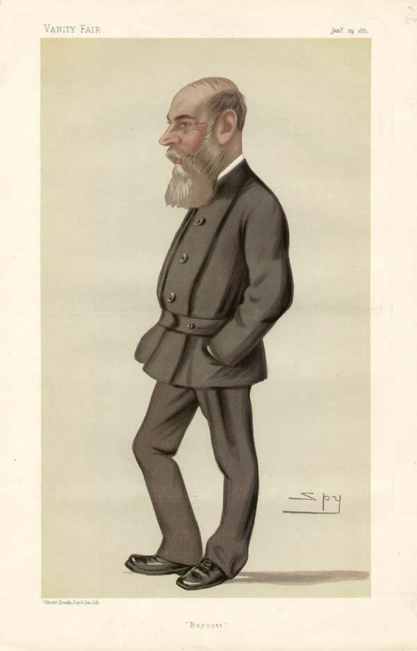 Illustration of Charles Boycott